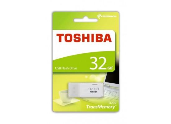 Toshiba 32GB TransMemory USB Flash Drive (THN-U202W0320E4) – White