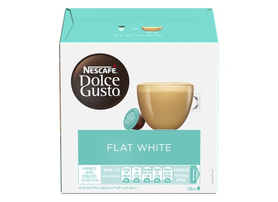 Dolce Gusto Nescafe Flat White - 16 Capsules