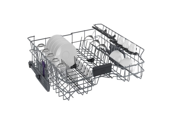 Beko 8 Programs 15 Place settings Free Standing Dishwasher (DFN28420S) - Silver