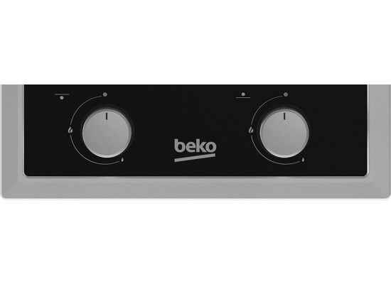 Beko 30cm 2-Ceramic Burner Built In Electric Hob (HDCC 32200 X)
