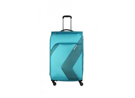American Tourister Stanford 78CM Spinner Soft Luggage (FC3X11006) - Aqua