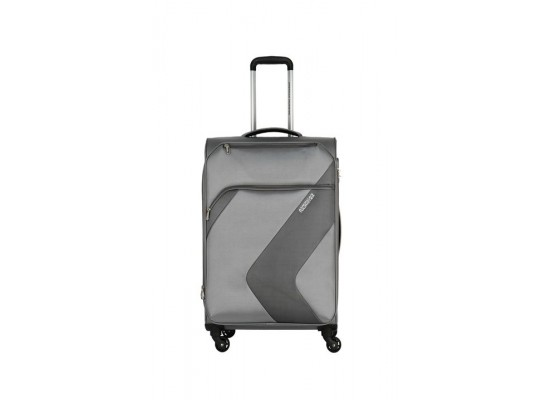 American Tourister Stanford 78CM Spinner Soft Luggage (FC3X08006) - Grey
