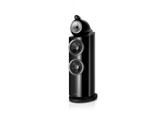 Bowers & Wilkins 3-Way Floorstanding Speaker (802 D3) - Gloss Black