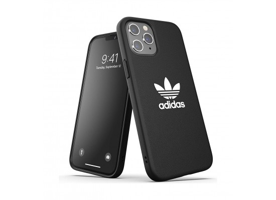Adidas Originals iPhone 12 Mini Shockproof Protective Back Case - Black White