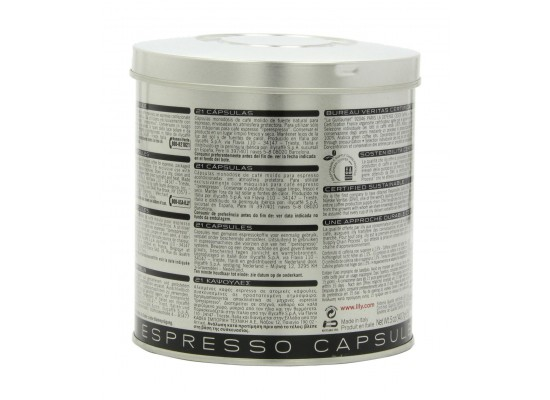 Illy IperEspresso Dark Roasted Coffee - 21 Capsules - Black