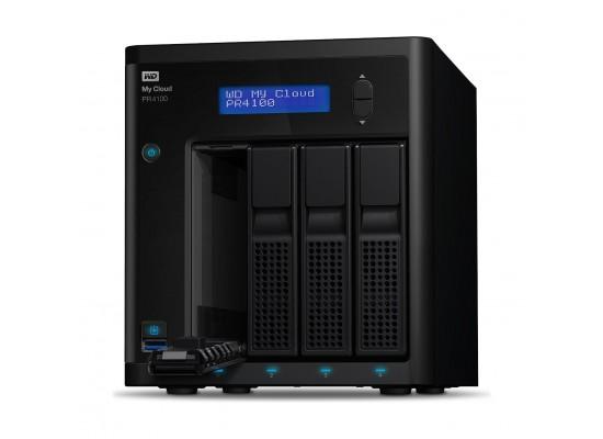 Western Digital My Cloud PR4100 24TB 4-Bay NAS And Cloud Storage (WDBNFA0240NBK)