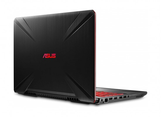 Asus TUF FX505 Core i7 16GB RAM 1TB HDD + 128GB SSD Geforce GTX 4GB 15 6  Inch Gaming Laptop - Black