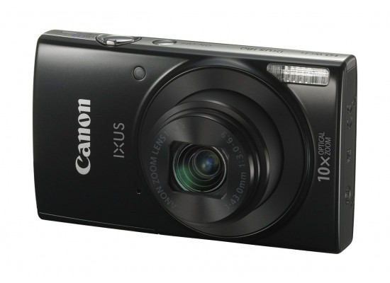 Canon Ixus 180 20MP WiFi Digital Compact Camera - Black