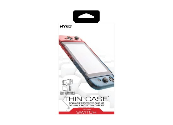 Nyko Thin Case for Nintendo Switch - Red/Blue