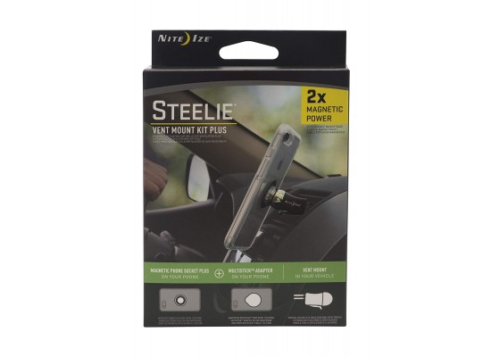 NiteIze Steelie Orbiter Dash Mount Kit Plus - (STVKP-01-R8)