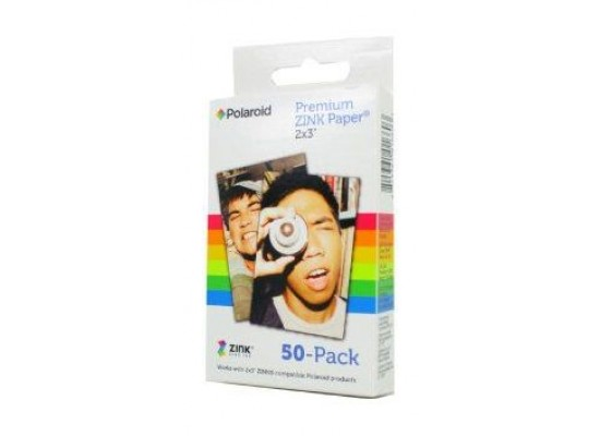 Polaroid Zink 2x3-inch Film for Polaroid Instant Camera - 50 Pack