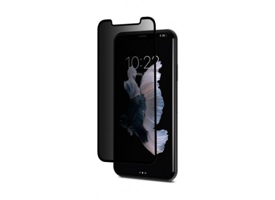 new product dbffb 73b95 Moshi IonGlass Privacy Screen Protector For iPhone X (99MO115003) - Black