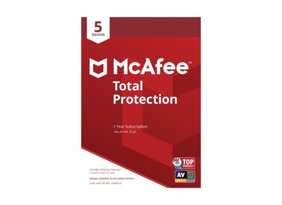 McAfee Total Protection 2019 - 5 Devices