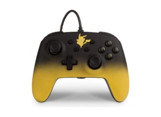 PowerA NS Pokémon Enhanced Wired Controller – Pikachu Fade