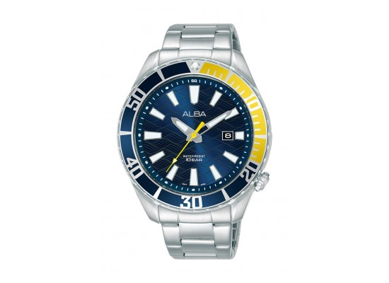 Alba 43mm Gent's Analog Sports Metal Watch - (AG8K25X1)