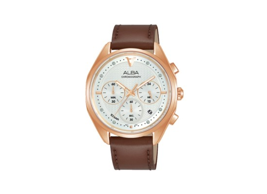 Alba 38mm Women's Chrono Watch (AT3G96X1) in Kuwait   Buy Online – Xcite