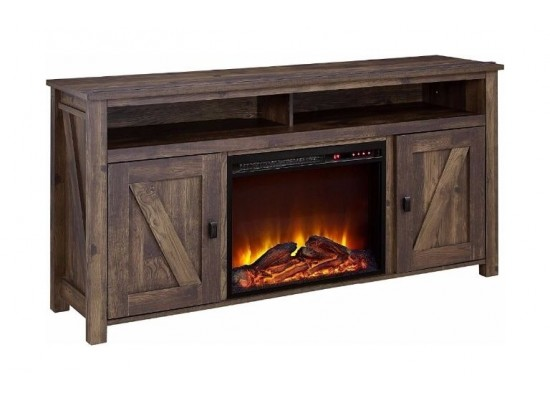 Wansa TV Stand Up to 65-inch With Fire Place (A-001FT)