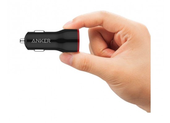 Anker PowerDrive 2 Dual Port Car Charger (A2310H11) - Black