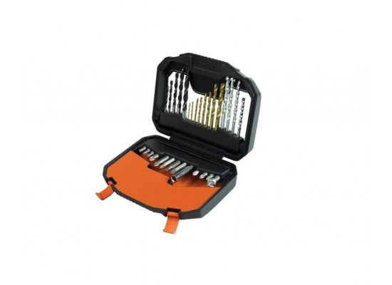 Black+Decker  Titanium Drilling And Screwdriver Bit Accessory Set (A7183-XJ)