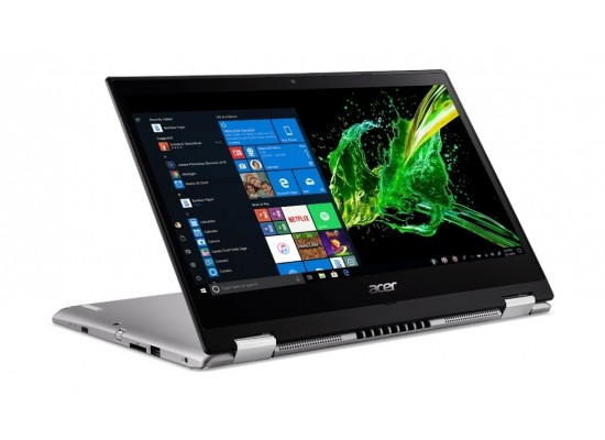 Acer Spin 3 Core i7 16GB RAM 1 TB HDD + 256 GB SSD 14-inch Convertible Laptop - Silver
