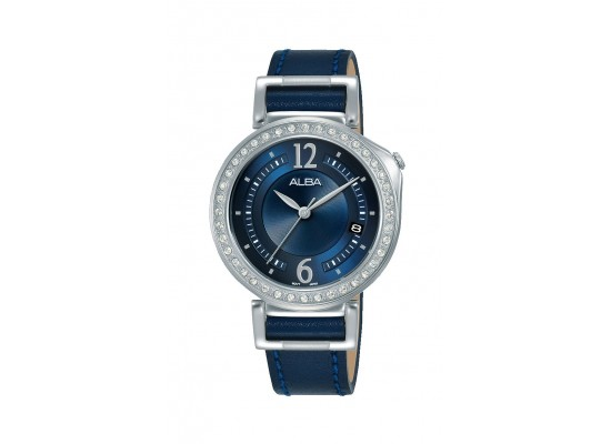Alba 34mm Analog Ladies Leather Fashion Watch (AG8K13X1)