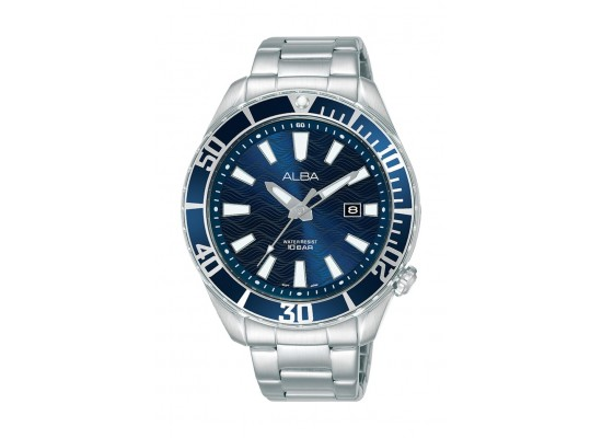 Alba 43mm Gent's Analog Sports Metal Watch - (AG8K31X1)