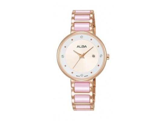 Alba 30mm Analog Ladies Metal Fashion Watch - AH7R92X1
