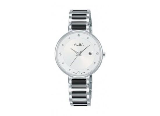 Alba Quartz 30mm Analog Ladies Metal Watch - AH7R95X1