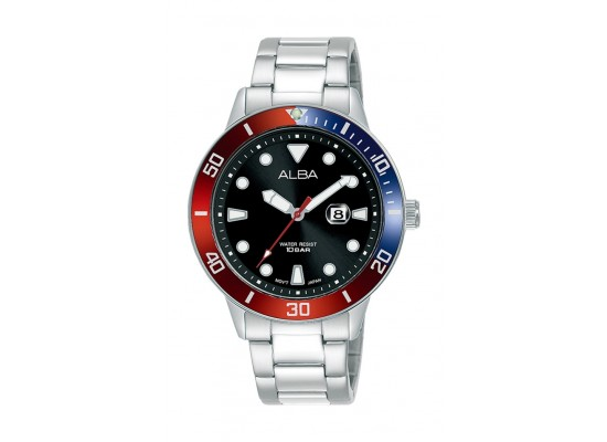 Alba 36mm Gent's Analog Sports Metal Watch - (AH7T77X1)