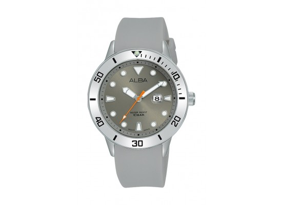 Alba 36mm Gent's Analog Rubber Sport Watch - (AH7T83X1)