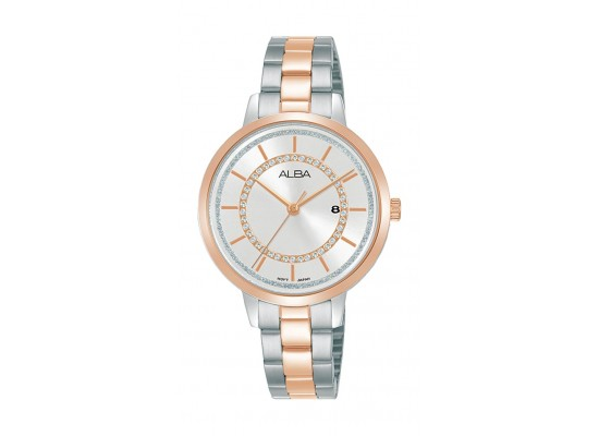 Alba 32mm Ladies Analog Fashion Metal Watch - (AH7T94X1)