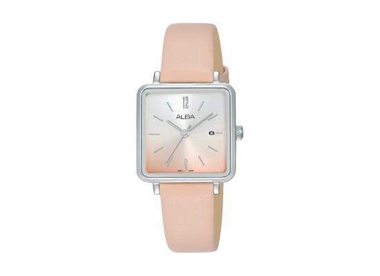 Alba 26mm Ladies Analog Casual Leather Watch - (AH7U29X1)