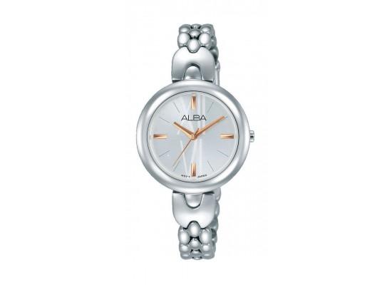 Alba AH8333X1 Ladies Fashion Analog Watch Metal Strap – Silver