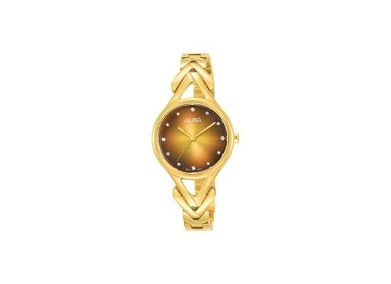 Alba 28mm Analog Ladies Metal Watch (AH8504X1) - Gold