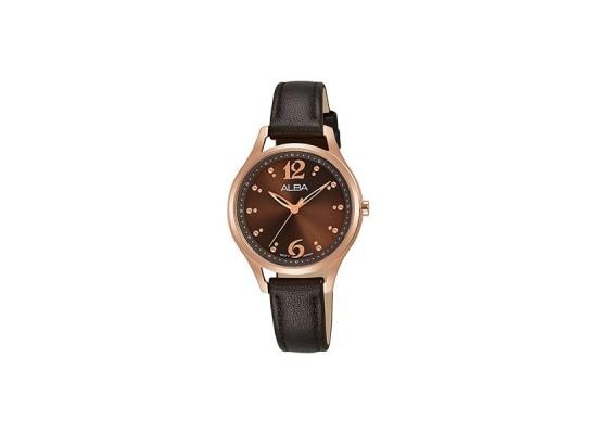Alba 30mm Analog Ladies Leather Fashion Watch - AH8520X1