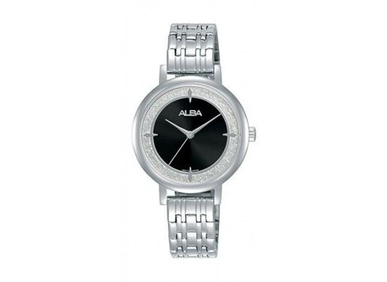 Alba Quartz 30mm Analog Ladies Metal Watch - AH8531X1