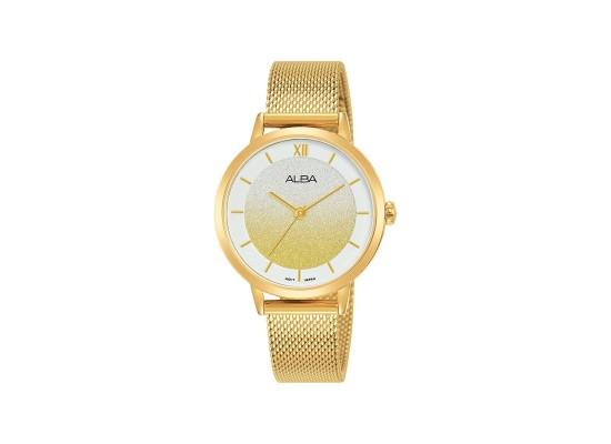 Alba 32mm Analog Ladies Fashion Metal Watch (AH8628X1) - Gold