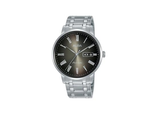 Alba 40mm Analog Gents Metal Watch (AL4129X1) - Silver