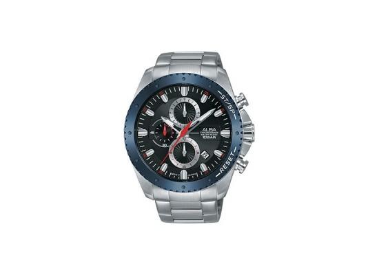 Alba 45mm Chronograph Gents Metal Watch (AM3635X1) - Silver