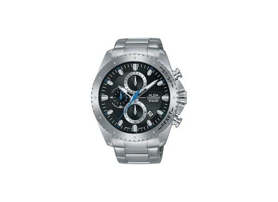 Alba 45mm Chronograph Gents Metal Watch (AM3637X1) - Silver