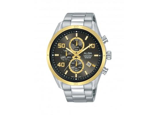 Alba 100mm Chronograph Gents Metal Fashion Watch (AM3670X1)