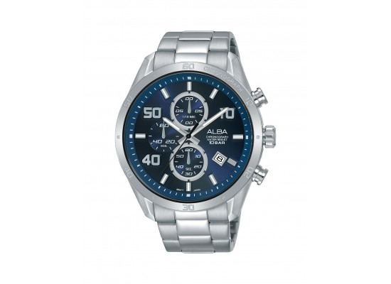 Alba 100mm Chronograph Gents Metal Fashion Watch (AM3673X1)