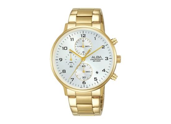 Alba 40mm Chronograph Gents Metal Casual Watch (AM3682X1)