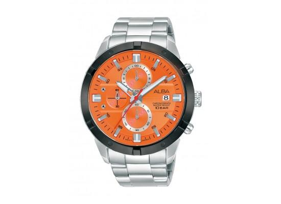 Alba 44mm Gent's Chronograph Sports Metal Watch - (AM3719X1)