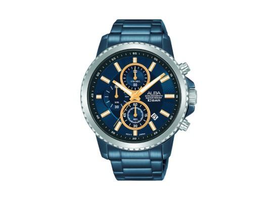 ALBA Quartz Chrono Casual 44mm Gents Watch -AM3791X1