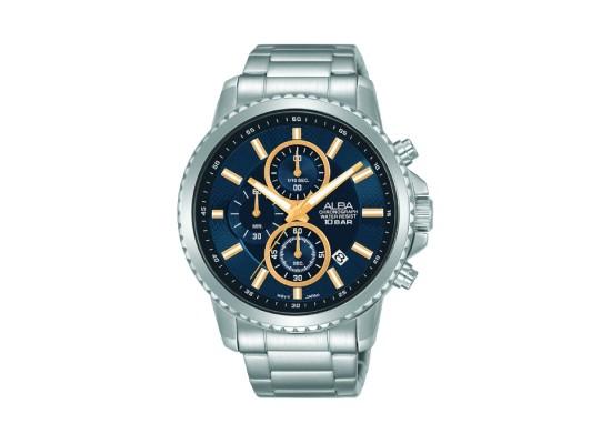 ALBA Quartz Chrono Casual 44mm Gents Watch -AM3795X1