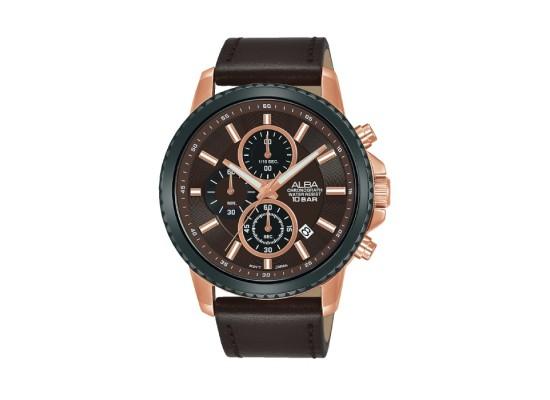 ALBA Quartz Chrono Casual 44mm Gents Watch - AM3798X1