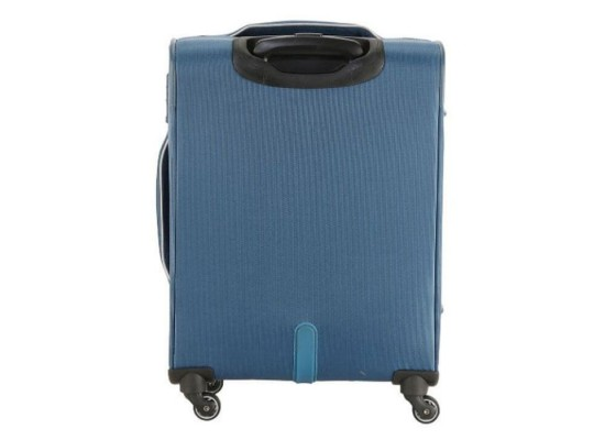 American Tourister Southside Spinner Soft back side Luggage Blue xcxite buy in kuwait