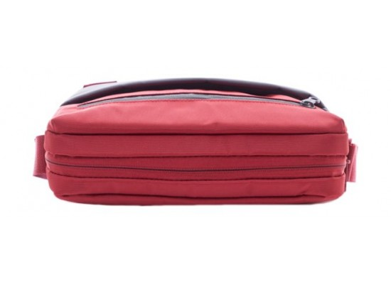 American Tourister Brixton Shoulder Bag (95SX80001) - Red/Grey -Top