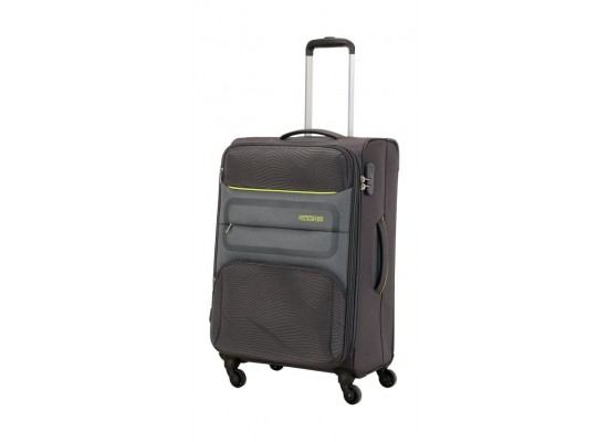 American Tourister Chelsea Soft Luggage (Medium) - Grey